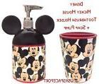 2-pcs Disney MICKEY MOUSE BATH SET Soap/Lotion Pump+Toothbru