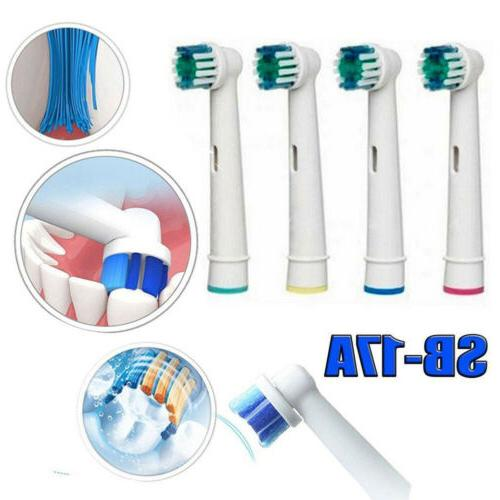 2pcs Electric Toothbrush Heads Replacement for Braun Oral B