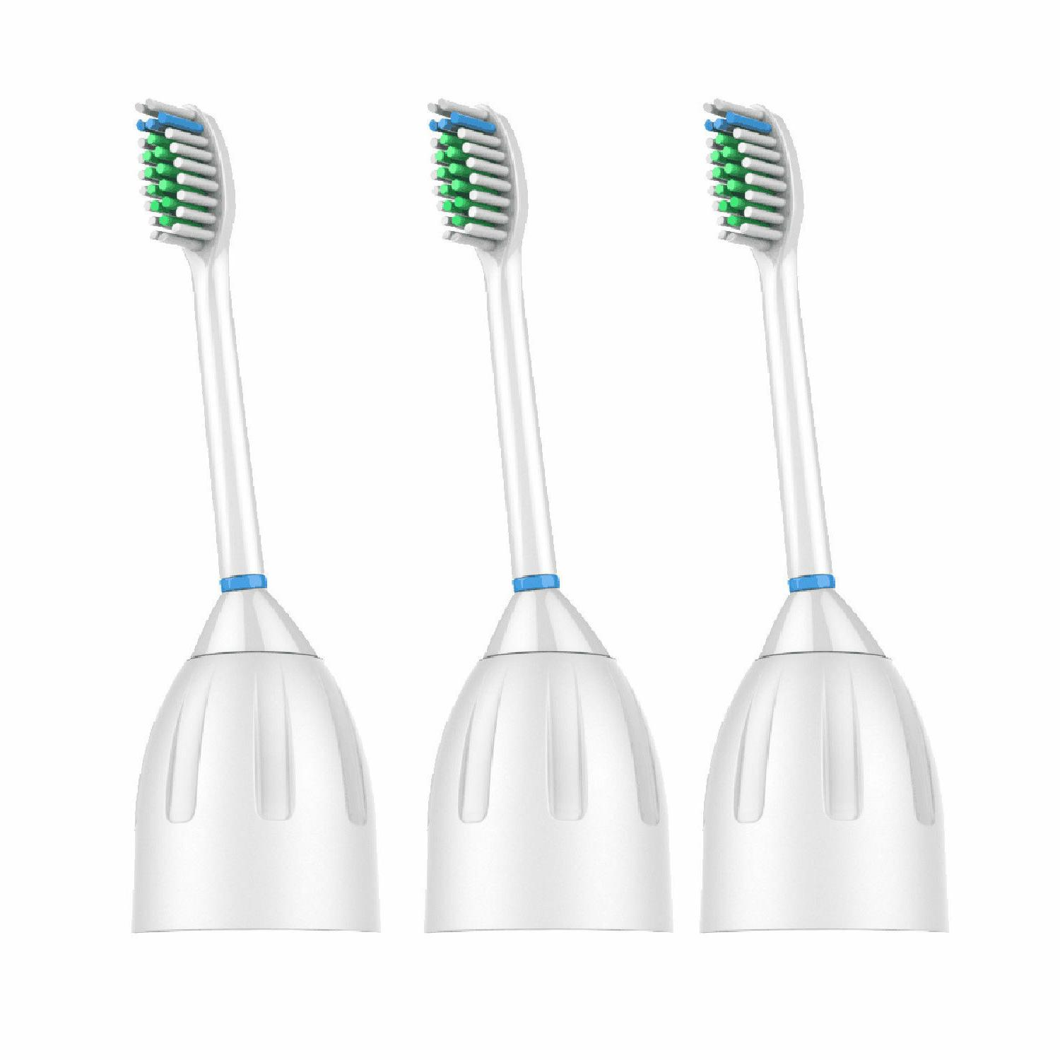 3 Pack Replacement Brush Heads for Philips Sonicare E series