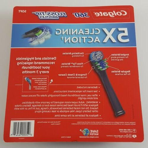 Colgate 360 Toothbrush Replacement Bundle
