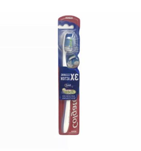 Colgate 360 Surround Medium Full Head Toothbrush - 1 Ea, 4 P