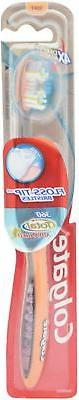 Colgate 360 Total Advanced Floss-Tip Bristle Toothbrush, Ful