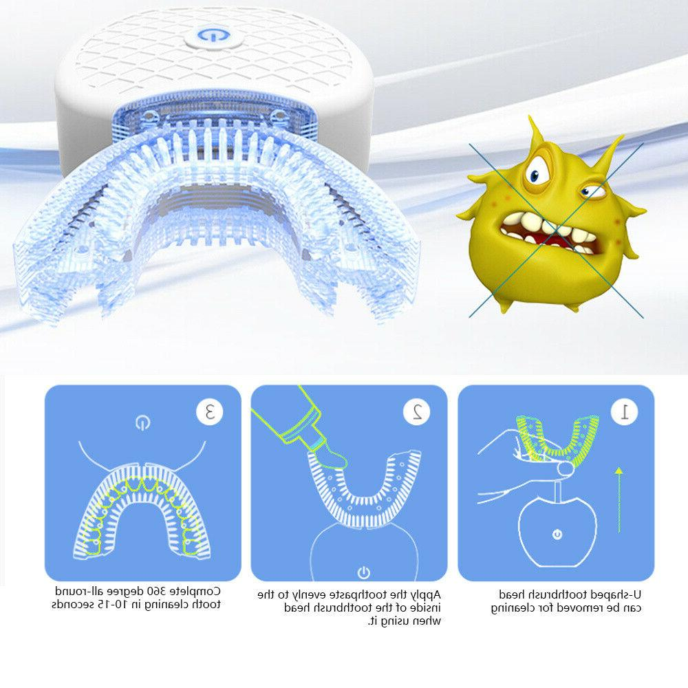360° Wireless Sonic Toothbrush Tooth