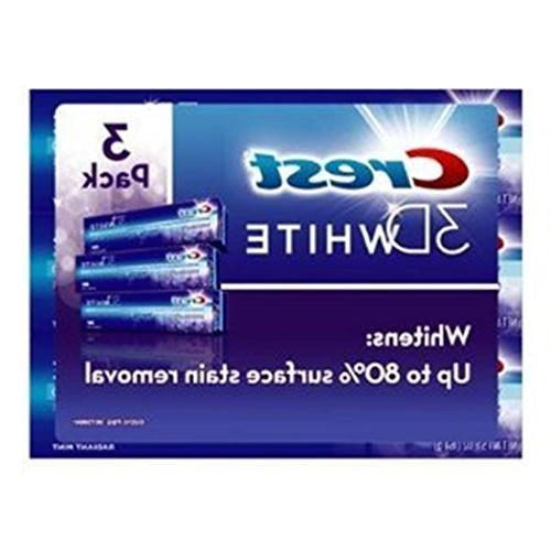 3d white toothpaste