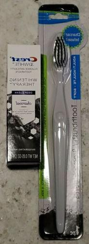 Crest 3D Whitening Therapy Charcoal Toothpaste & Charcoal In