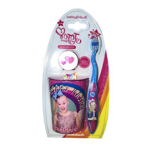 3pcs pink big girl toothbrush cap