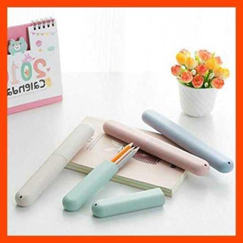 4 Packs Toothbrush Toothpaste Travel Case,Anti Portable Storage Box