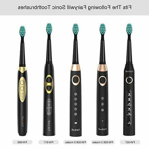 Fairywill Toothbrush Soft Replacement For FW-508