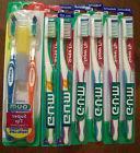 GUM 460 462 Super Tip Sunstar Toothbrushes  Medium & Soft  t