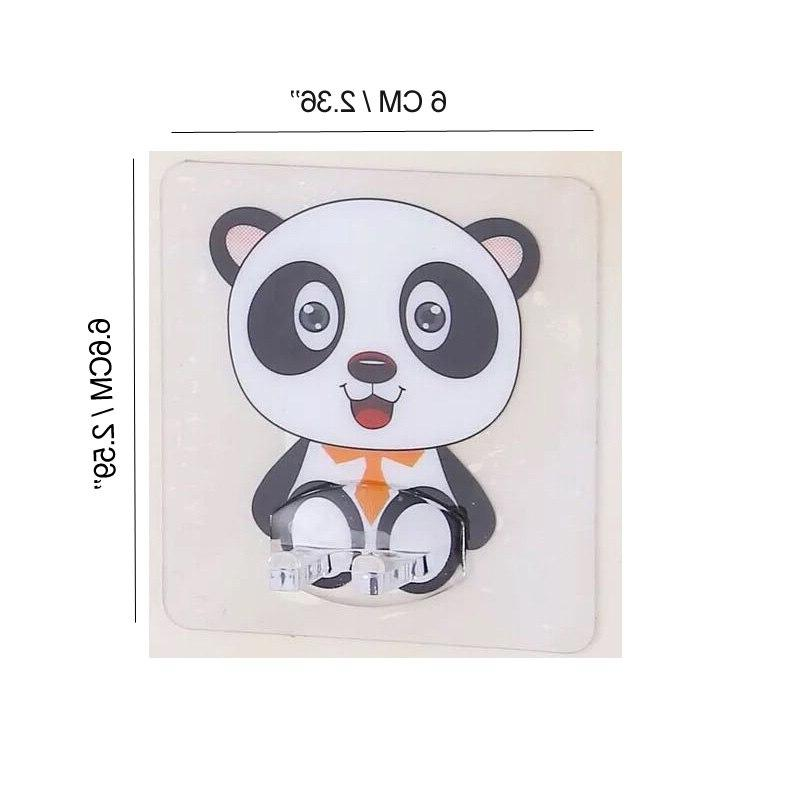 4pcs <font><b>Holder</b></font> Travel Toilet Organizer Brush Storage Panda