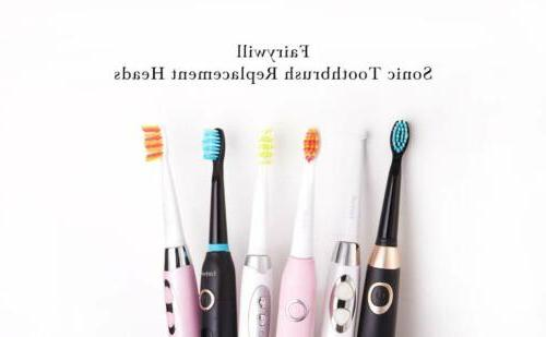 4PK Black Fairywill Electric Toothbrush 507 917
