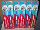 6 COLGATE EXTRA CLEAN FIRM HEAD TOOTHBRUSHES - POWER BRISTLE