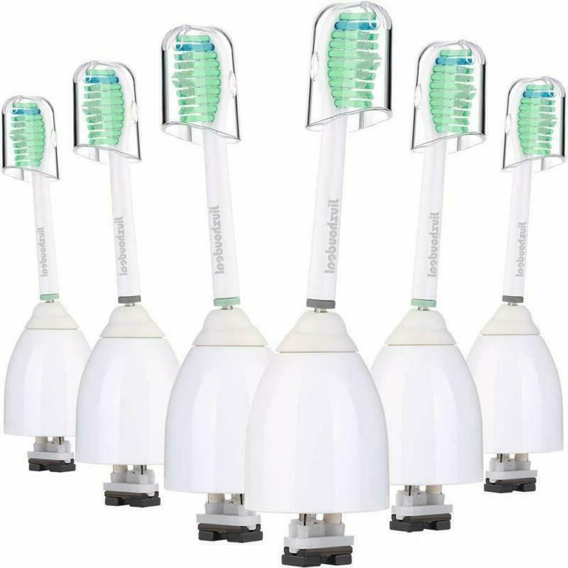 6 Pack Replacement Toothbrush Heads Philips Sonicare E-Serie