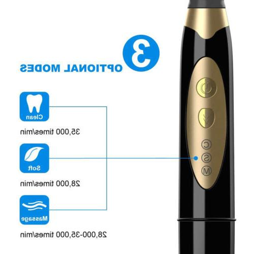 Fairywill 659 Toothbrush Battery Powered 3 Modes IPX7 Waterproof