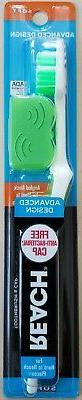 Reach Advanced Design Full Head Soft Toothbrush with Toothbr