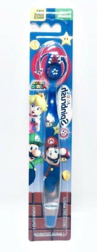 Arm & Hammer Kids SpinBrush Super Mario Manual Toothbrush **