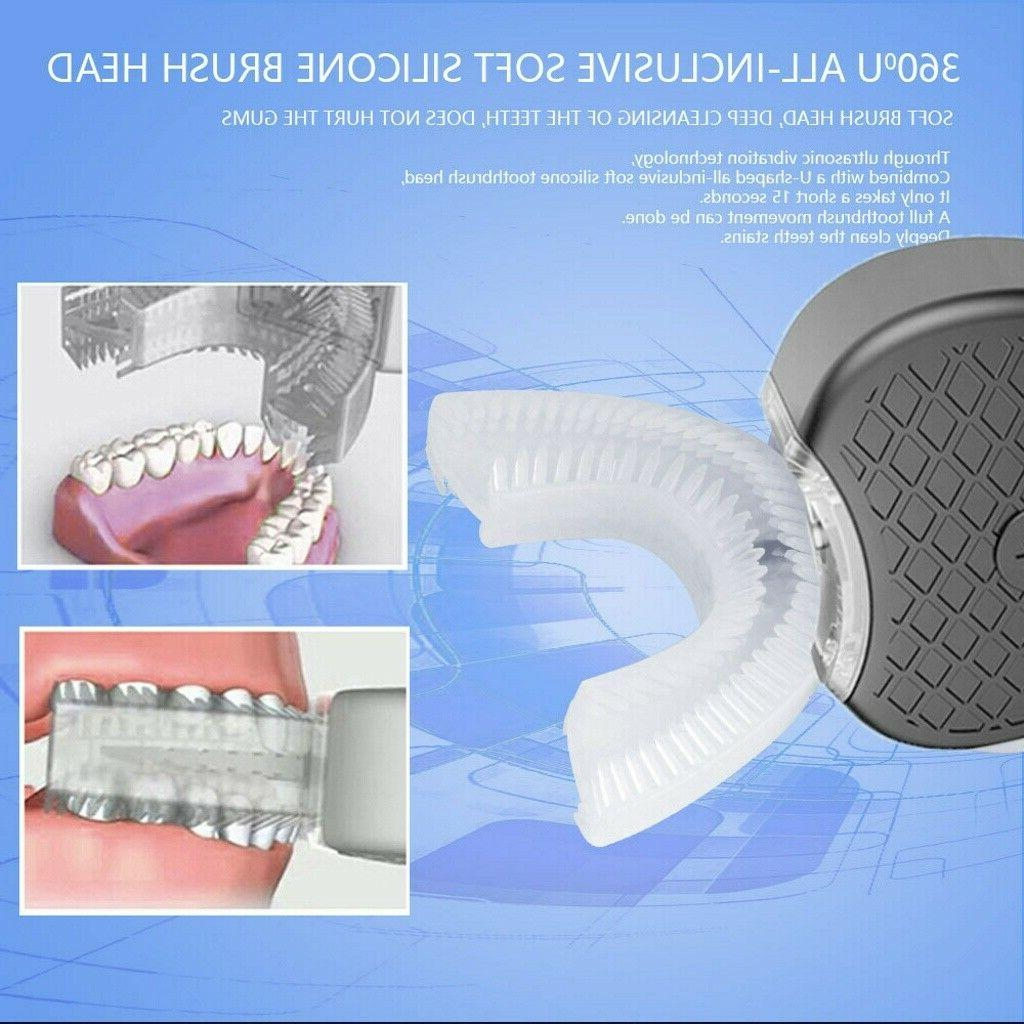 Electric Rotating Automatic Teeth Clean Rechargeable