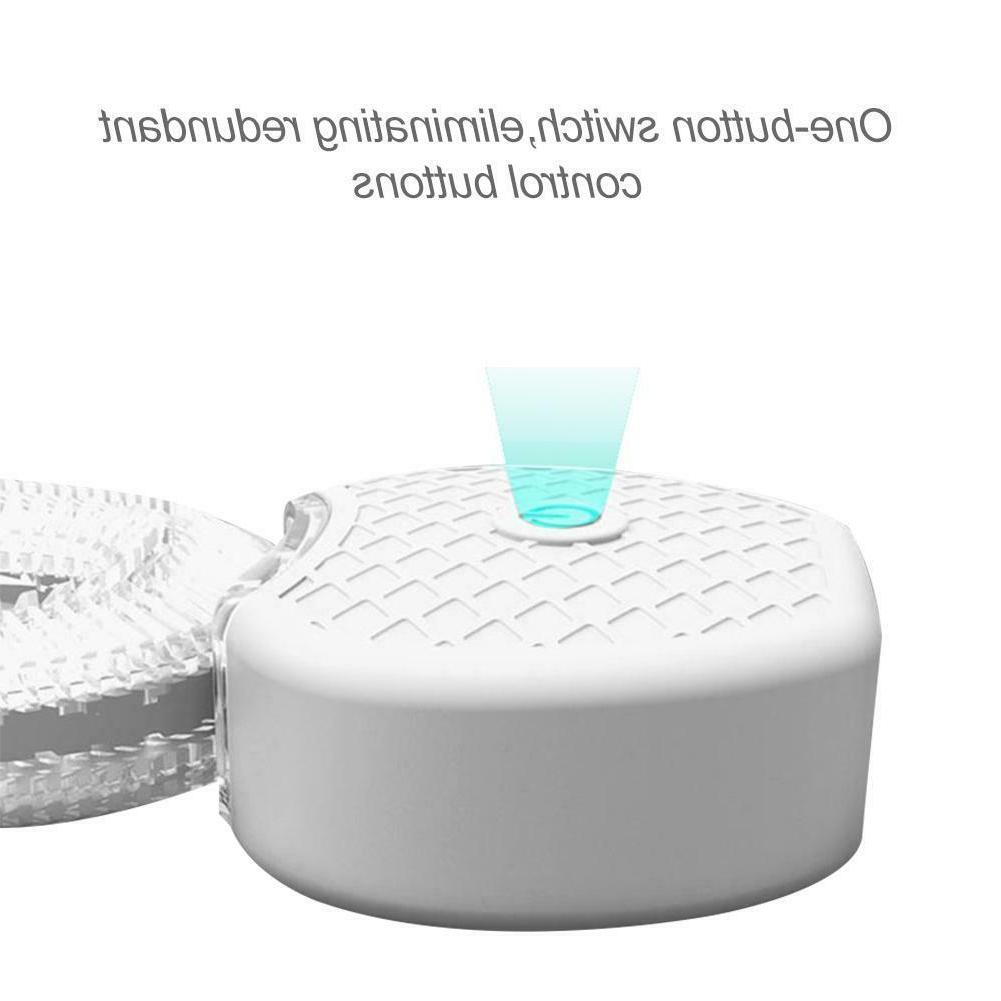 Automatic 360°Electric Wireless Sonic Toothbrush Blue
