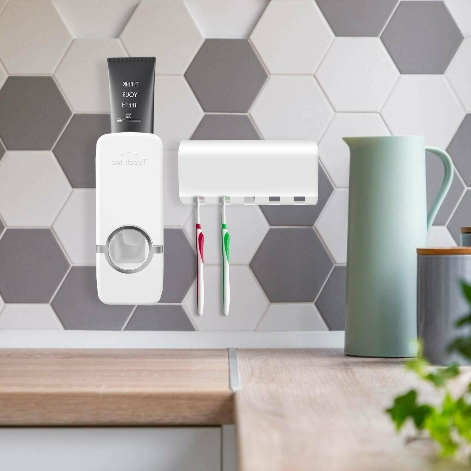 Automatic 5 Toothbrush Wall Mount