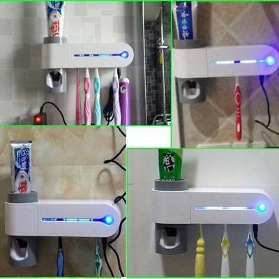 Automatic 5 Toothbrush Sterilizer Wall Mount Stand