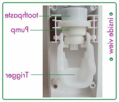 Automatic Toothpaste Dispenser 5 Sterilizer Holder Wall