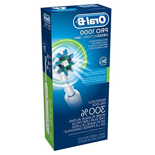 Oral-B 1000 Rechargeable Vary - White Blue
