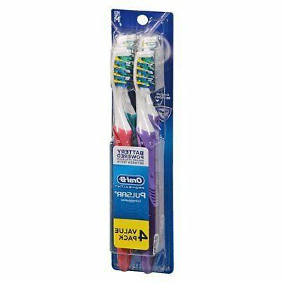 b pulsar bristle toothbrush