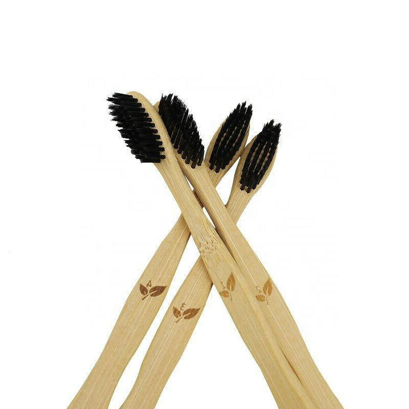 Bamboo Toothbrush Pack 100% ECO Friendly NEW