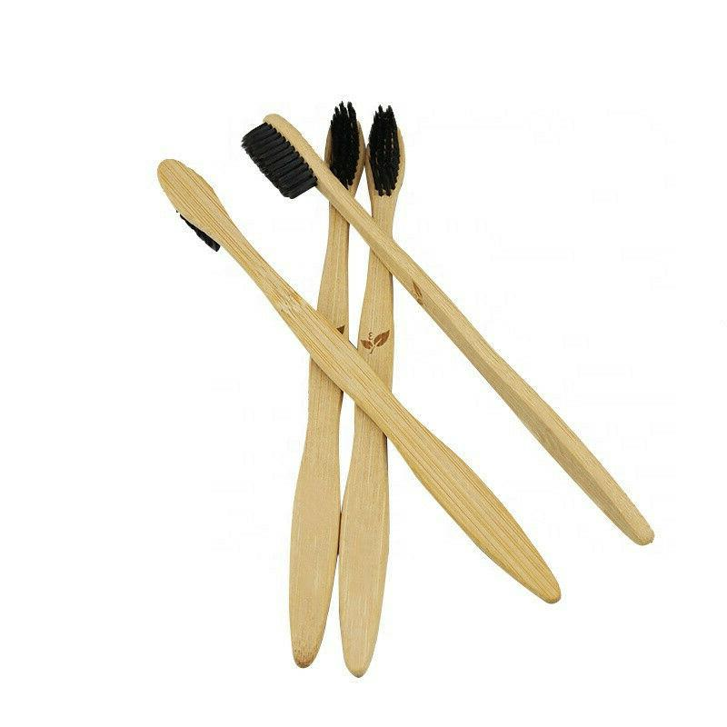 Bamboo Toothbrush 4 100% Natural ECO Adult