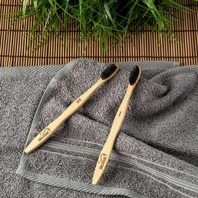 BAMBOO ACTIVATED BRISTLE NATURAL ORGANIC TOOTHBRUSH