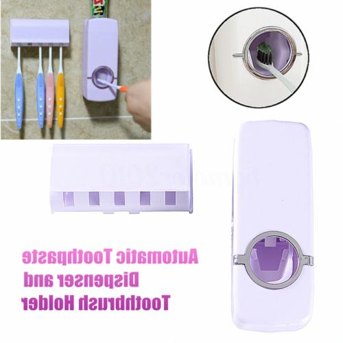 Bathroom Toothbrush Mount Stand