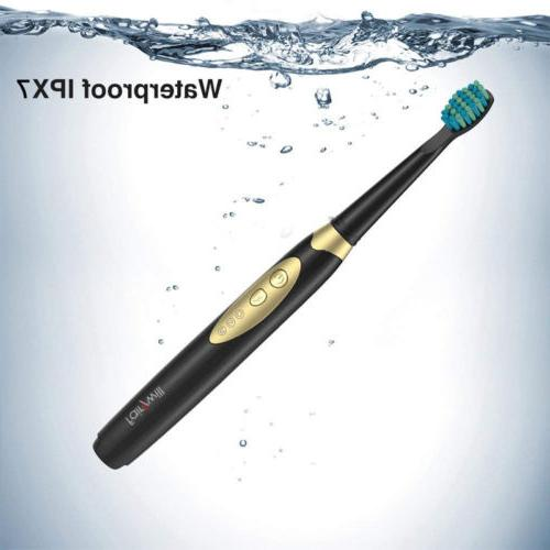 Electric Toothbrush with 2 Waterproof 3