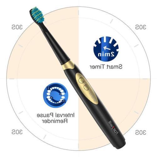 Electric 2 AAA Sonic Toothbrush Waterproof Modes