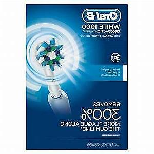 braun oral b 1000 crossaction electric toothbrush