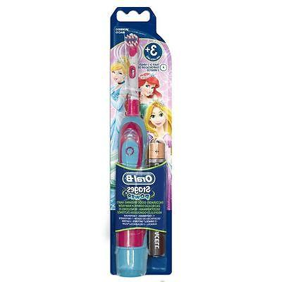 Braun Oral-B Advance Power Kids Girl Battery Toothbrush, Dis