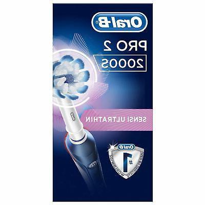 Braun Oral-B Pro 2000S Sensi Toothbrush