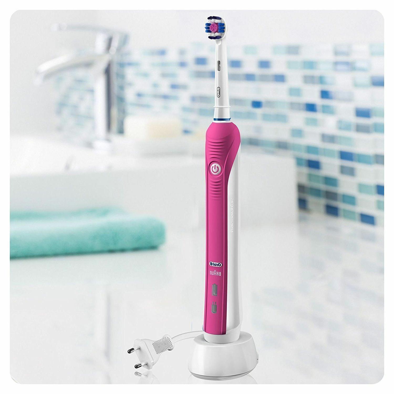 Braun Oral-B 2500W Toothbrush Gift Pink