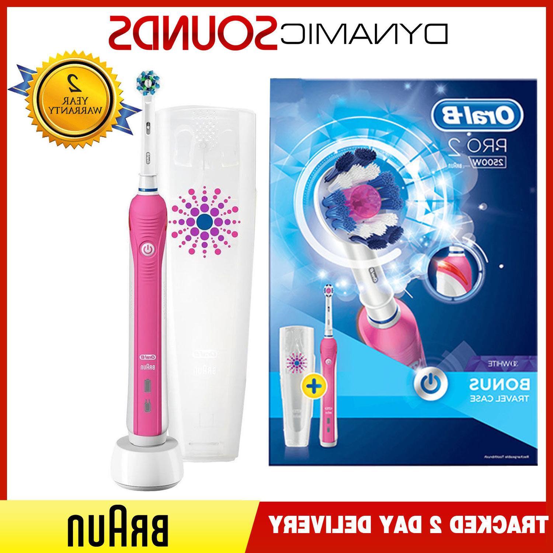braun oral b pro 2 2500w electric