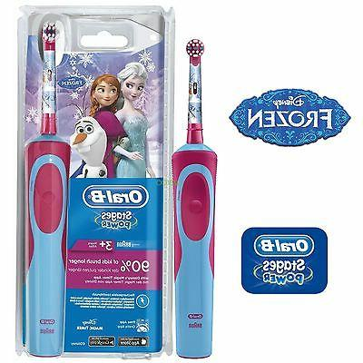 Braun Oral-B Vitality Kids Disney Frozen Electric Childrens