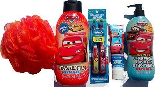 bubble bath set pixar cars