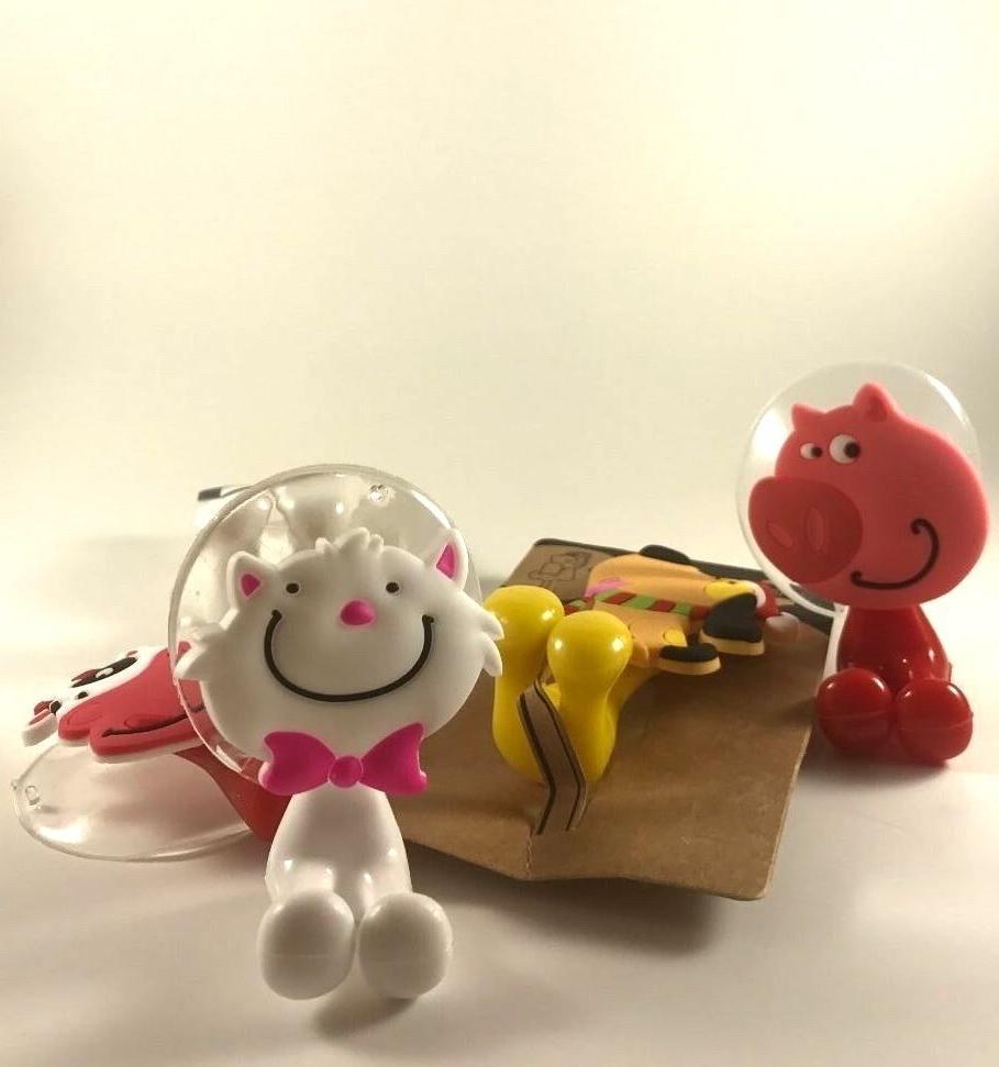 Cartoon Animal Toothbrush Holder Hooks Bathroom Accessories For Kids *USA*