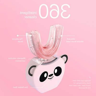 Kids Electric Brush Automatic Rechargeable Ultrasonic Toothbrush