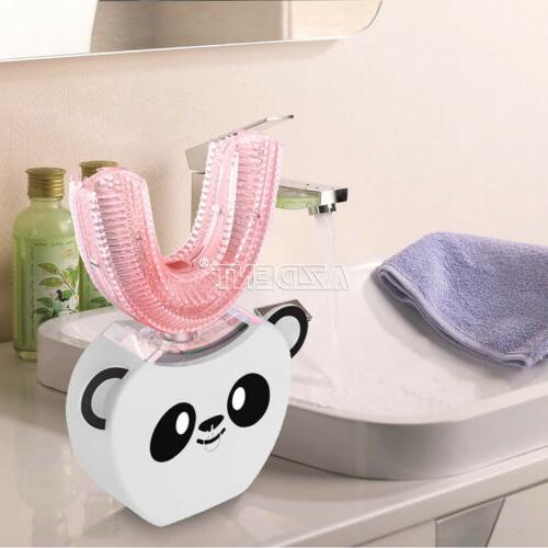 Children's Automatic 360°Electric Panda