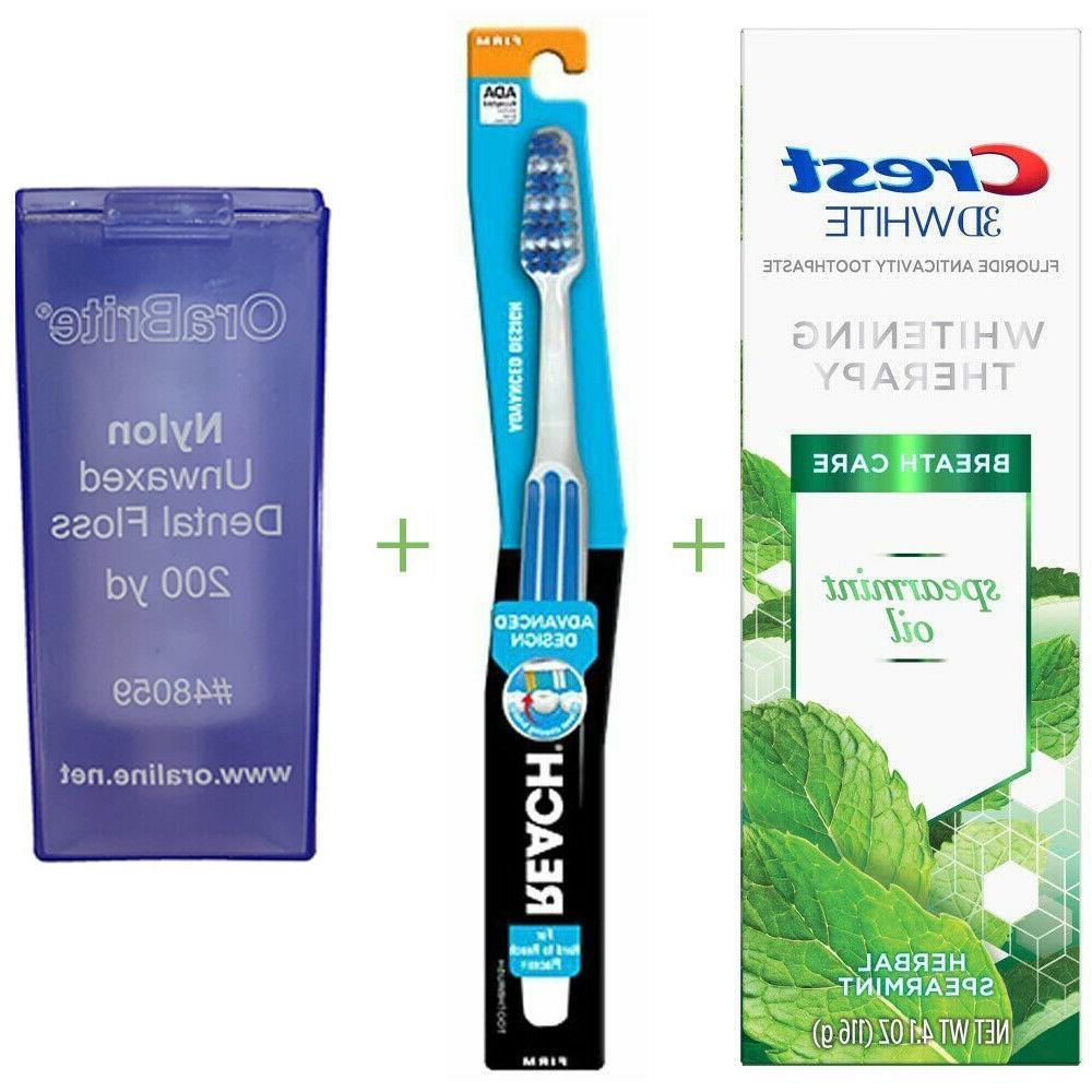 crest toothpaste toothbrush choose size orabrite dental