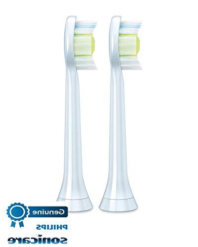 Genuine DiamondClean replacement toothbrush White