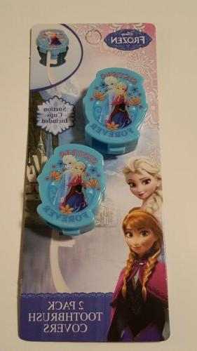 Disney toothbrush covers with cups sisters forever oral