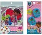 DISNEY DOC MCSTUFFINS  5 PC TUB TREADS SET & 2 PC TOOTHBRUSH