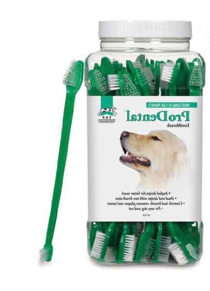 Dog Cat Dental Toothbrush - ProDental - Dual End - Choose Qu