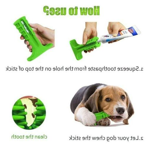 Dog Cleaning Toy Silicone Brushing Oral Care US