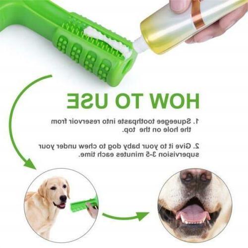 Dog Toothbrush Cleaning Brushing Oral Dental US